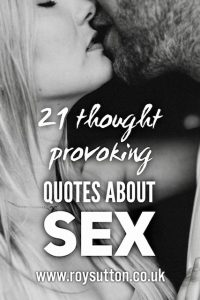 Quotes about sex