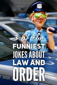 Funniest Jokes About Law and Order