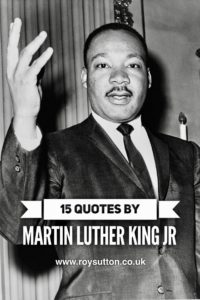 Quotes by Martin Luther King Jr