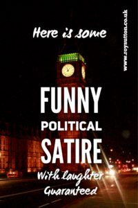 Funny political satire