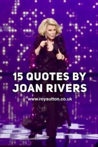 Quotes by Joan Rivers