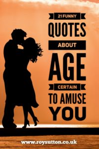 Funny Quotes About Age
