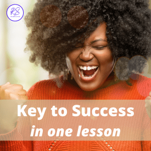 key to success in one lesson
