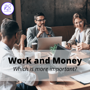 work and money