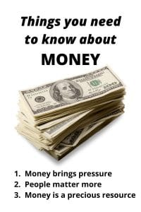 Things you need to know about money