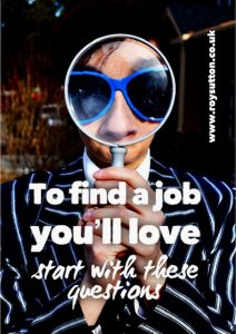 Find a job youll love
