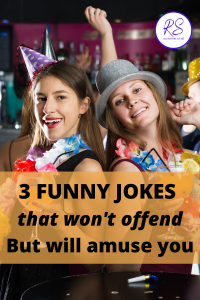 3 funny jokes that won't offend but will amuse you