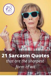 21 Sarcasm Quotes