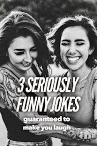 Seriously funny jokes