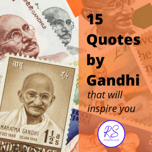 15 Quotes by Gandhi