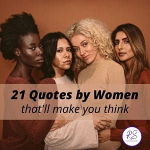 21 Quotes by Women