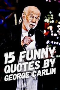 Funny quotes by George Carlin