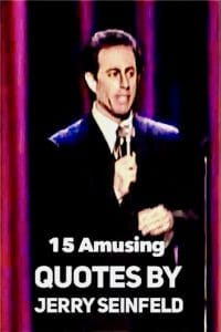 Quotes by Jerry Seinfeld