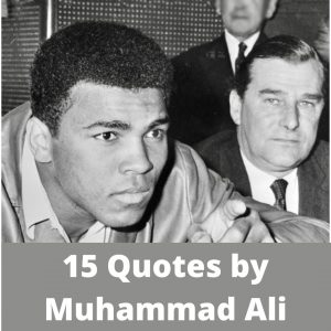 15 Quotes by Muhammad Ali