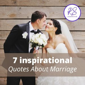 7 inspirational quotes about marriage
