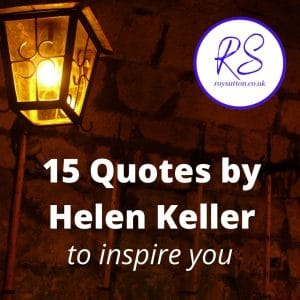 15 Quotes by Helen Keller