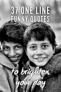 One line funny quotes