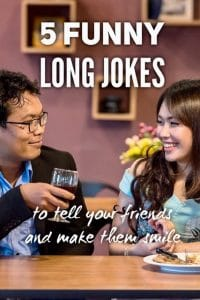 Funny long jokes