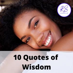 10 quotes of wisdom