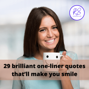 brilliant one-liner quotes