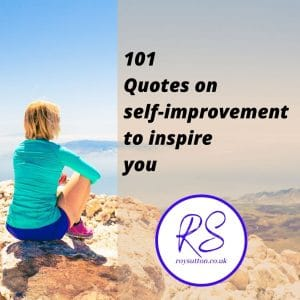 101 Quotes on self-improvement to inspire you