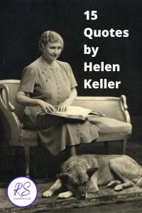 15 Quotes by Helen Keller 2
